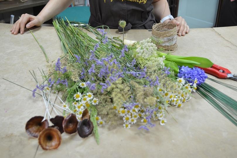Как сделать флористическую композицию
