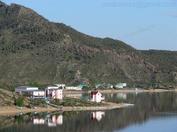 Озеро Жасыбай в Казахстане