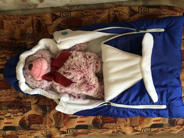 778654cb376bc85376d01eff0087fb3035600c5d Как сшить зимний утепленный конверт для новорожденного