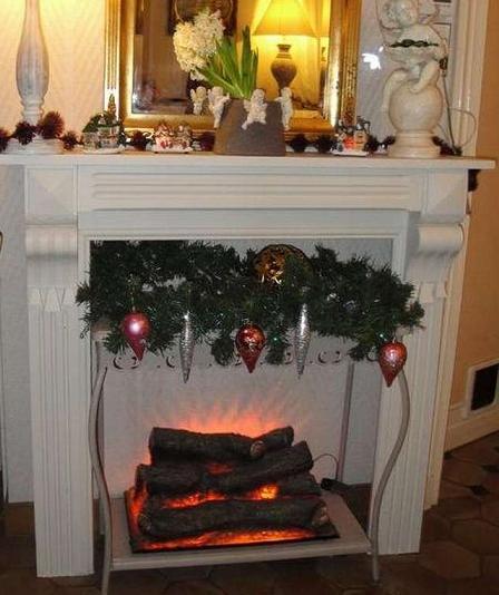 есть фальш камины фото на новый год хорошее термобелье