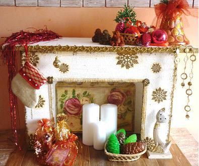 Новогодний декор из коробок