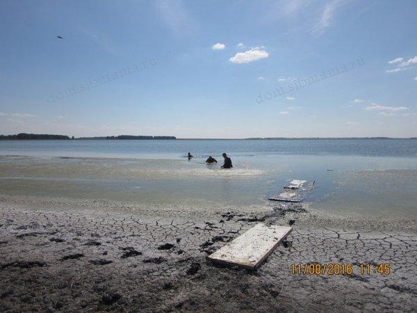В НСО свое «Мертвое море» - Озеро Горькое