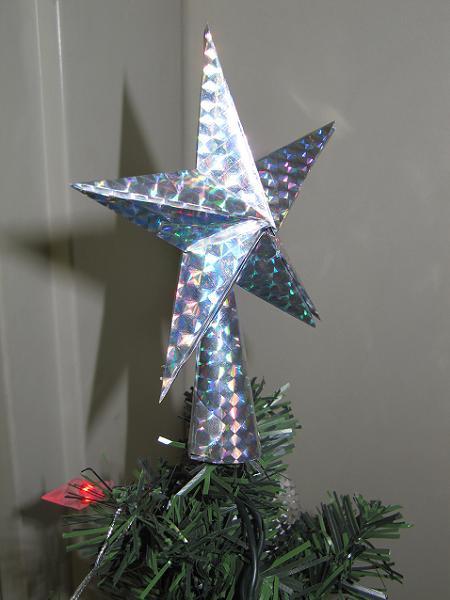 Фото звезды на елку своими руками