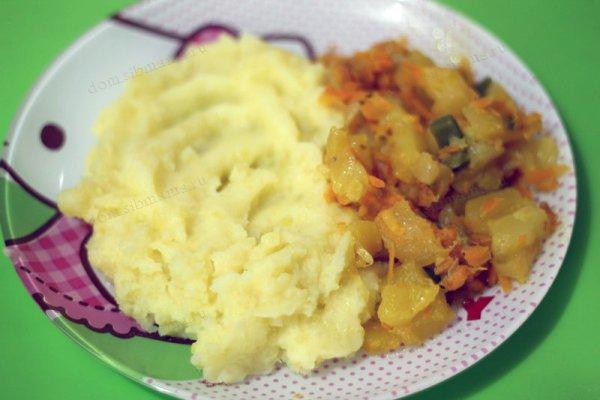 Картофельное пюре. Рецепты от сибмам с фото