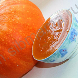Фруктовое или ягодное пюре уваренное с сахаром