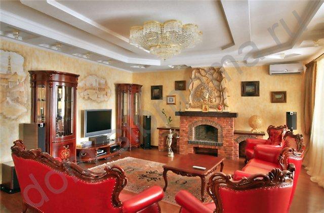Интерьер гостиная (классический стиль)