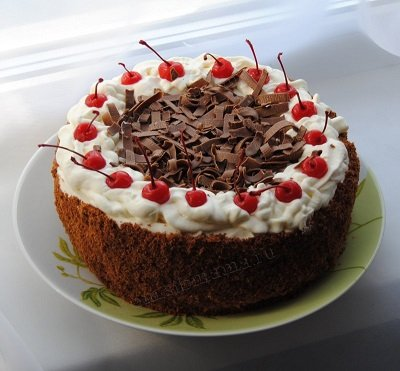 Крем для торта из сливок