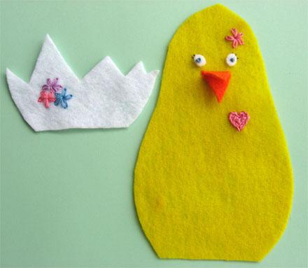 Как сделать мягкую игрушку цыпленок