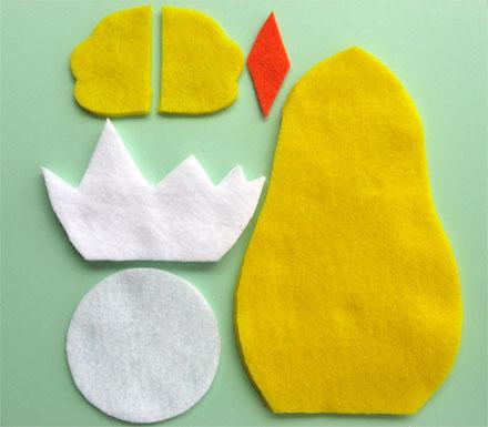 Как сделать цыпленка из ткани