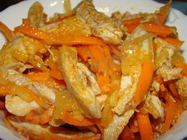 Рецепты корейских салатов // Портал о.