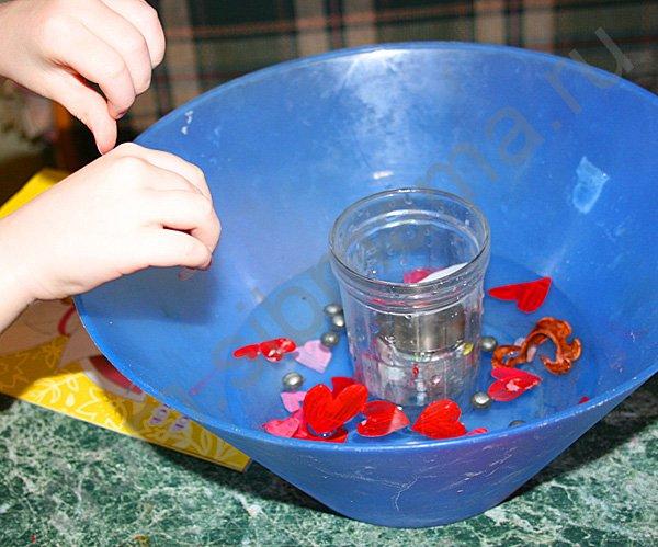 Как сделать воду цветную