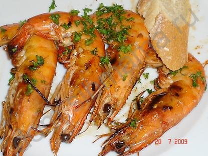 Салаты с морепродуктами (без майонеза)
