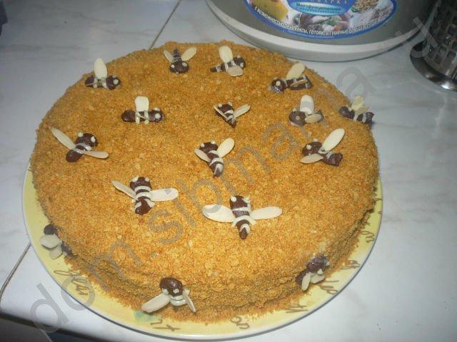 Медовый торт от розалина111