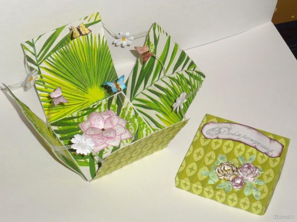 Подарочные коробочки своими руками ко дню рождения