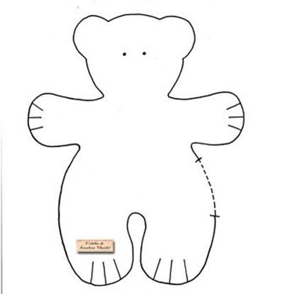Медвежонок своими руками из ткани