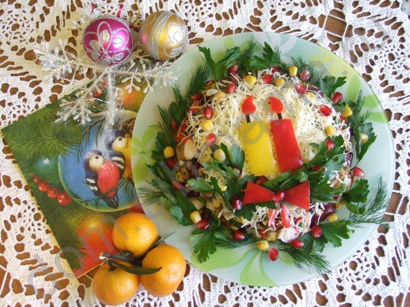 Рецепты салатов с кальмарами и мясом с 122