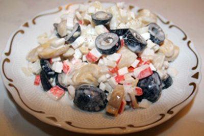 Салаты с крабовыми палочками. Рецепты от Сибмам с фото