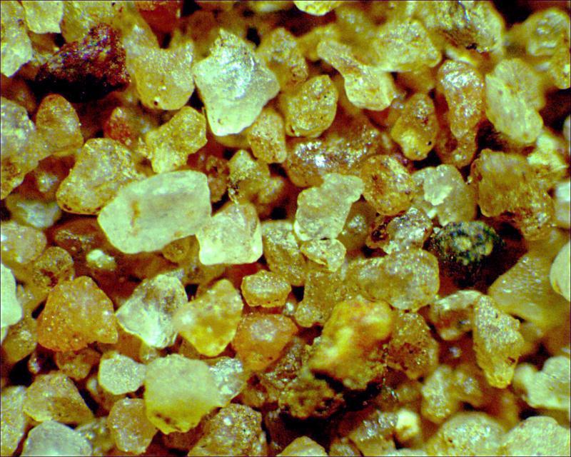 песок через микроскоп фото скорость