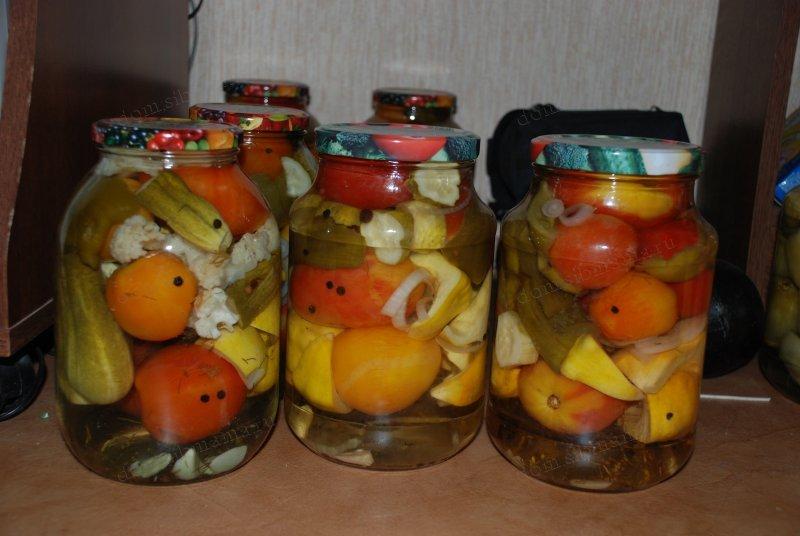 фото соление ассорти из овощей с фото жизни будет