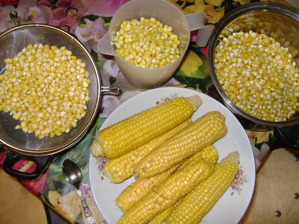 кукуруза домашняя консервированная