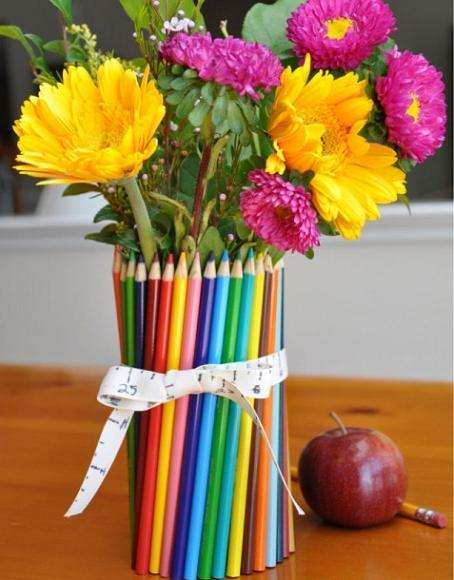 букет карандаши