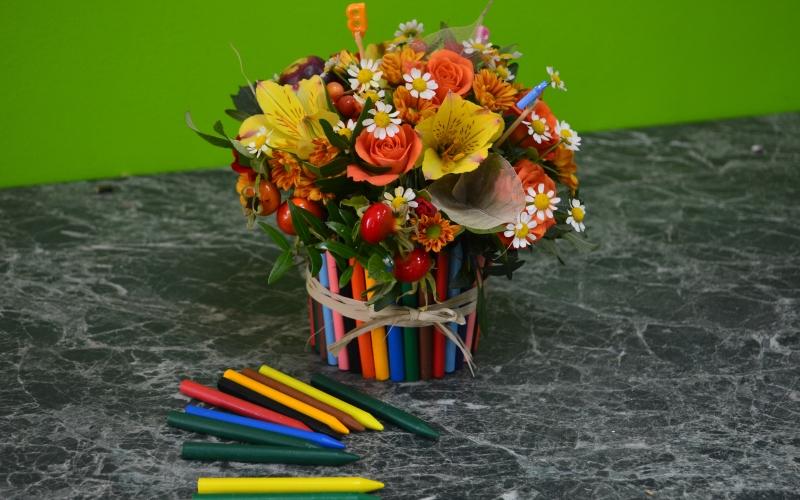 Бутоньерку свадебный, цветы на 1 сентября в детский сад